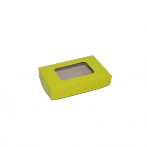 "Pastry Box  - Green (3.5""x5.5""x1"", pack of 100s)"