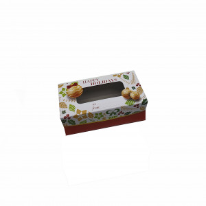 "Fruitcake Box Medium - Ornaments (3.5""x7.25""x2.75"", Pack of 100s)"